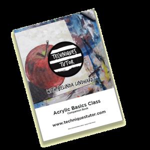 Acrylic Basics Online Class - Companion Book